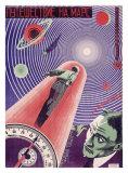 A Trip to Mars Giclee Print by  Prusakov