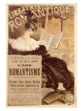 Librairie Romantique Giclee Print