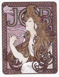 Job Papier and Cigarettes Giclee Print by Alphonse Mucha