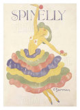 Spinelly Giclee Print by Charles Gesmar