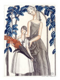 Mother and Child Giclee Print by Jean Dupas