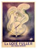 Loie Fuller Folies Bergere Giclee Print by  Bac (Ferdinand Sigismond Bach)