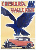 Chenard and Walcker Giclee Print by Raol Auger