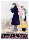 Spyker Autos Giclee Print by  Vanderhem