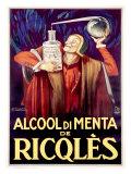Alcool di Menta de Ricqles Giclee Print by Achille Luciano Mauzan