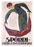 Sporri Giclee Print by B. Durst
