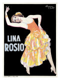 Lina Rosio Giclee Print by  Choppy
