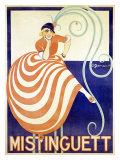 Mistinguett Giclee Print by Charles Gesmar