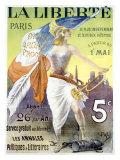 La Liberte Paris Giclee Print