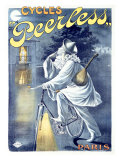 Peerless Cycles Giclee Print