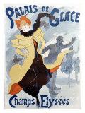 Palais De Glace Giclée-tryk af Jules Chéret