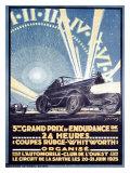 3rd Grand Prix d'Endurance Giclee Print by  Tranchant