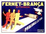 Fernet-Branca, Prolonga la Vida Giclee Print by Achille Luciano Mauzan