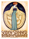 Seiden-Spinner, Zurich Reproduction procédé giclée
