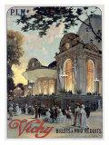Vichy Giclee Print by Louis Tauzin