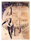Theatre de l&#39;Opera Giclee Print by Henri Gray