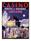 Casino Lausanne Giclee Print by Jacomo