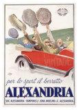 Alexandria Berretto Giclee Print by Achille Luciano Mauzan