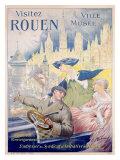 Rouen, 1968 Giclee Print by P. Bonnet