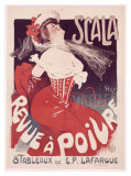 Scala to Ruve a Poivre Giclee Print by Jules-Alexandre Grün