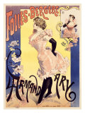 Folies Bergere Giclee Print by Alfred Choubrac