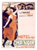 Hotel du Pacha Noir Giclee Print by Jules-Alexandre Gr&#252;n