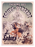 Folies Bergere, Les Sphinx Giclee Print