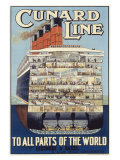 Cunard Line Giclee Print