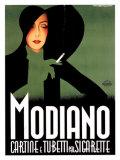 Modiano Giclee Print
