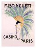 Mistinguett, Casino de Paris Giclee Print by Charles Gesmar