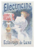 Electricine Giclee Print by Lucien Lefevre