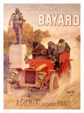 Autos Bayard Reproduction procédé giclée par Hugo D'Alesi