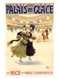 Palais de Glace Giclée-tryk af Albert Guillaume