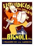 Bignoli Liquidacion Giclee Print by Achille Luciano Mauzan