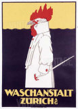 Waschanstalt Zurich Giclee Print by  Hardmeyer