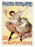 Folies-Bergere, La Cavalieri Giclee Print by  PAL (Jean de Paleologue)