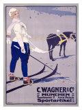 C. Wagner Sportartikel Giclee Print by Carl Moos