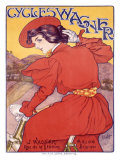 Cycles Wagner Giclee Print by Georges Gaudy