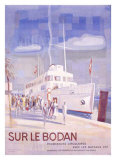 Sur le Bodan Giclee Print by Otto Baumberger