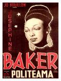 Josephine Baker Giclee Print by  Soler