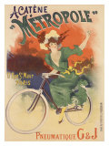 Acatene Metropole Giclee Print by Lucien Baylac