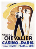 Chevalier Cas de Paris Giclee Print by Charles Kiffer