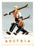 Austria Giclee Print