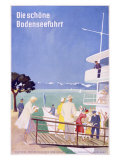 Bodensee, Fahrt Reproduction proc&#233;d&#233; gicl&#233;e par Dietrich Bodman