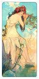 Alphonse Mucha - Seasons, 1896 Digitálně vytištěná reprodukce