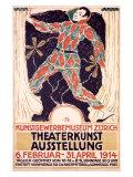 Theaterkunst Ausstellung Giclee Print by Carl Roesch