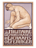 Militaire Demonstraties Giclee Print by L. Jansen