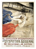 Locomotion Aerienne Giclee Print by  Fouqueray