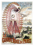 Grand Roue de Paris Giclee Print by  Dorfinant