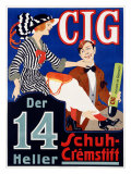 Cig Giclee Print by  Ranzenhofer